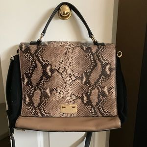 Like New Kate Spade Snakeskin Work Tote